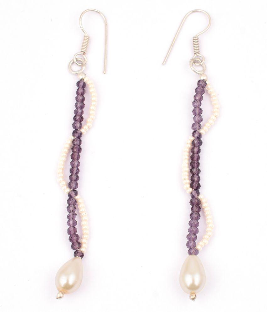 Pearlz Gallery's Earring In Czech Beads