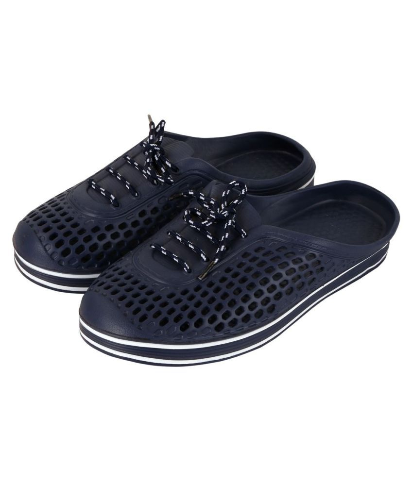 cc6dac5ef158 Falcon18 Men s Wear Shoe Laces Crocs Blue Toe covered flip flop Price in  India- Buy Falcon18 Men s Wear Shoe Laces Crocs Blue Toe covered flip flop  Online ...