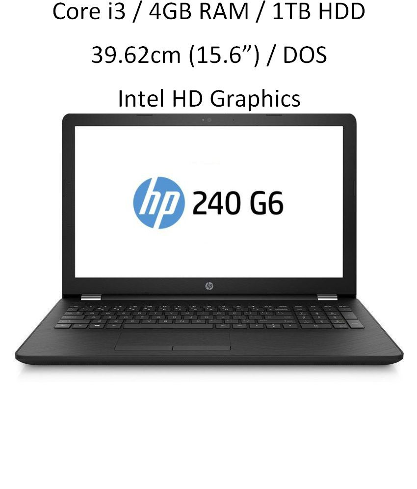 HP 240 G6 (6th Gen i3 / 4GB RAM /...