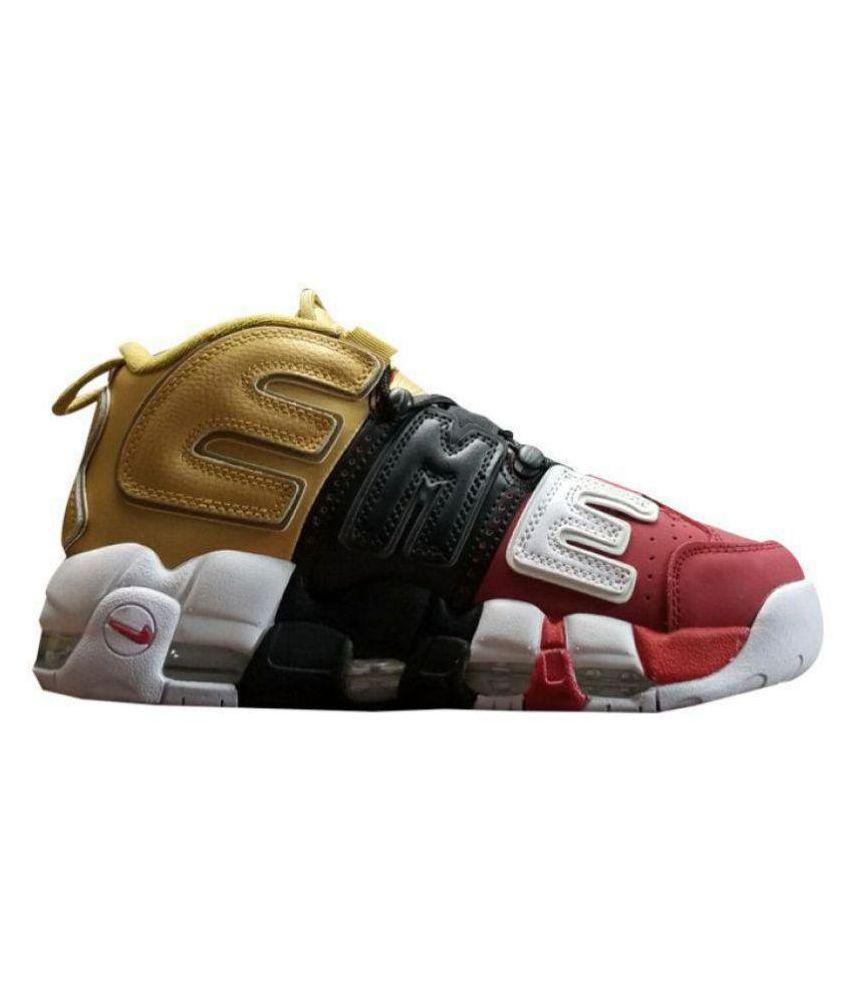 cb631e58aa9 Nike Air UpTempo Supreme Edition Multi Color Basketball Shoes