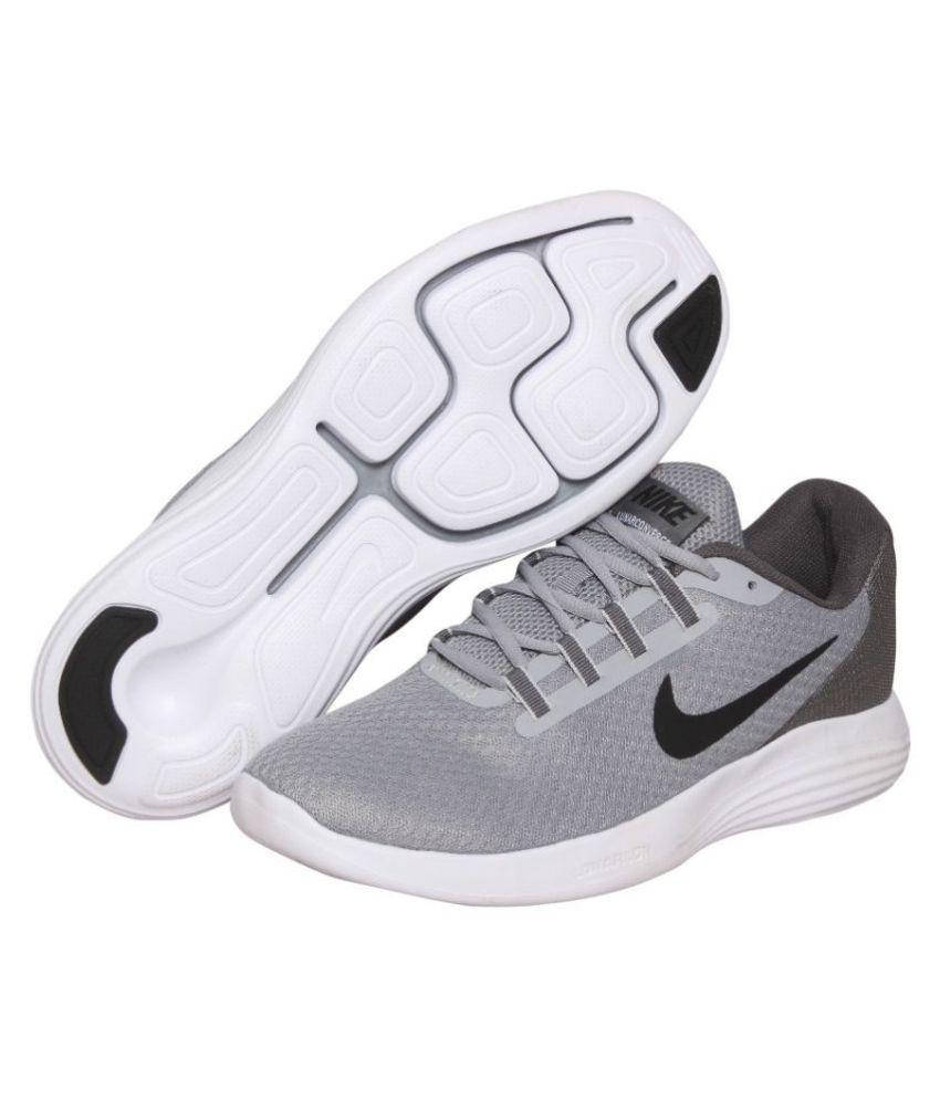103cc60f4ddc7 Nike LUNAR CONVERGE Grey Running Shoes Nike LUNAR CONVERGE Grey Running  Shoes ...