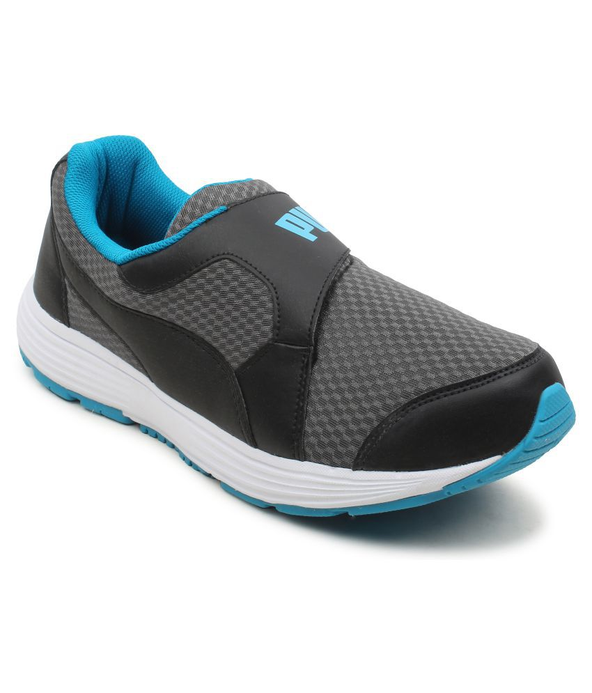 58377026aa93 Puma Men Reef Slip-On IDP Gray Running Shoes - Buy Puma Men Reef Slip-On  IDP Gray Running Shoes Online at Best Prices in India on Snapdeal