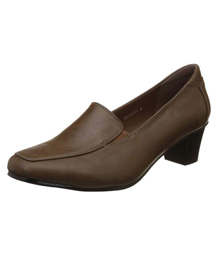 e35edb464301 Bata Brown Block Heels Price in India- Buy Bata Brown Block Heels ...