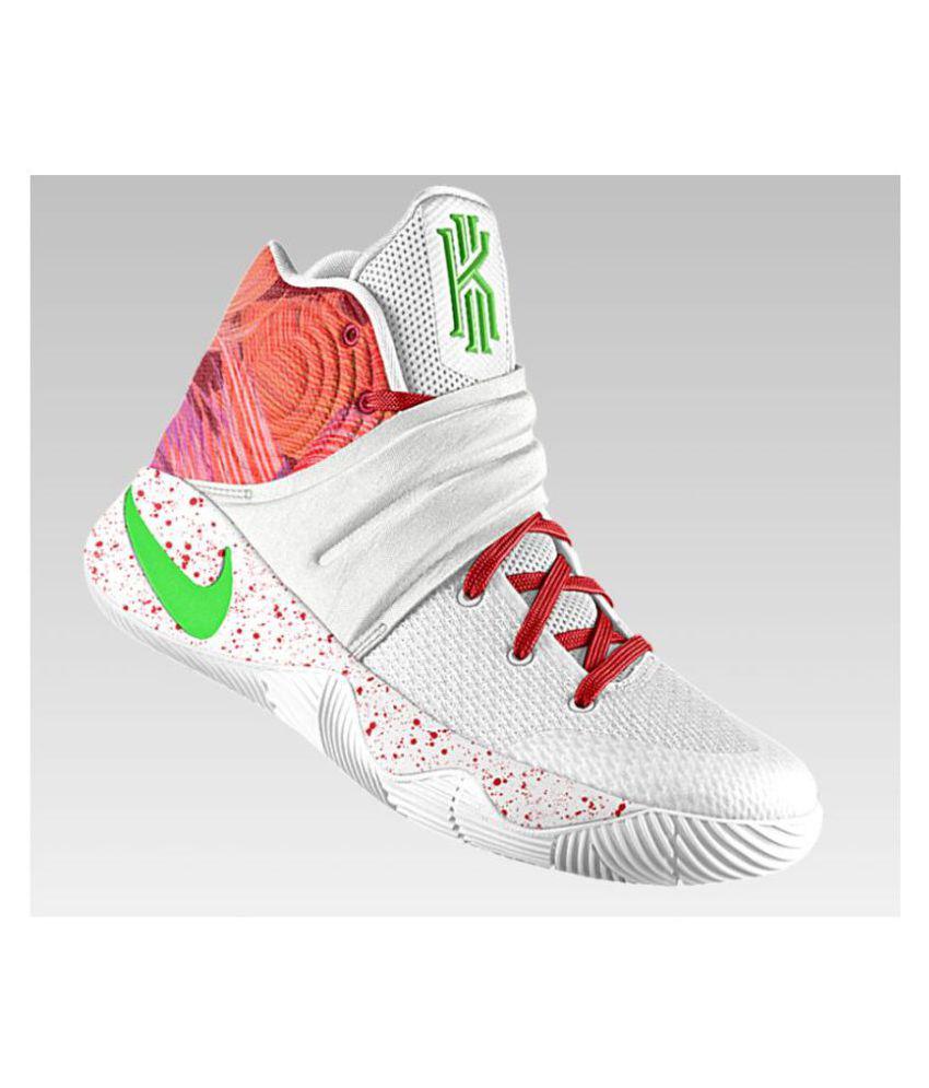 9fd7ebecde22 Kyrie Krispy Kreme White Basketball Shoes Kyrie Krispy Kreme White  Basketball Shoes ...