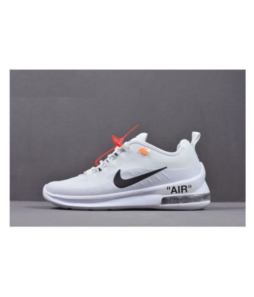best service f9032 96ac7 Nike Air Max Axis Off White Running Shoes - Buy Nike Air Max Axis Off White  Running Shoes Online at Best Prices in India on Snapdeal