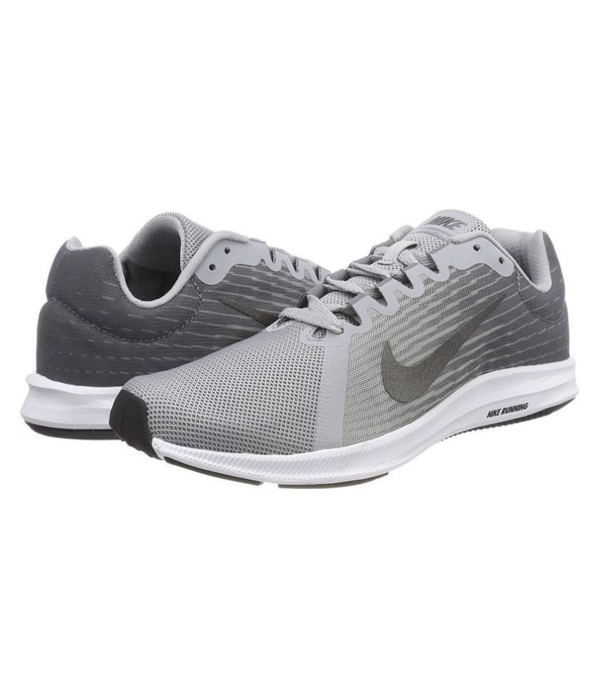 273d5bc3ac6 Nike DOWNSHIFTER 8 Grey Running Shoes - Buy Nike DOWNSHIFTER 8 Grey Running  Shoes Online at Best Prices in India on Snapdeal