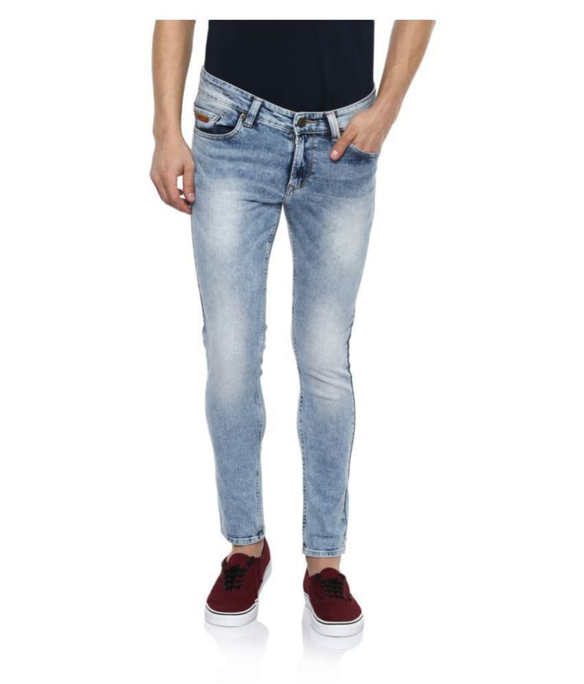6f9cd64a02f3dd Spykar Blue Super Skinny Jeans - Buy Spykar Blue Super Skinny Jeans Online  at Best Prices in India on Snapdeal