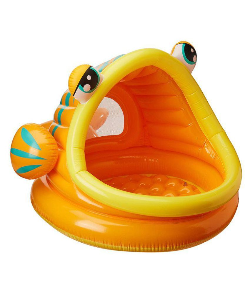 maruti enterprise Lazy Inflatable Fish Baby Pool,
