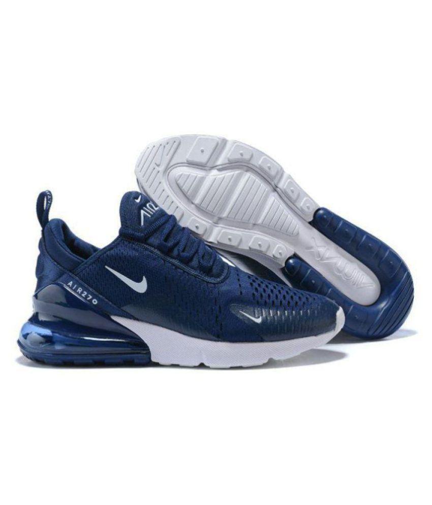 Nike air 270 kpu Blue Running Shoes