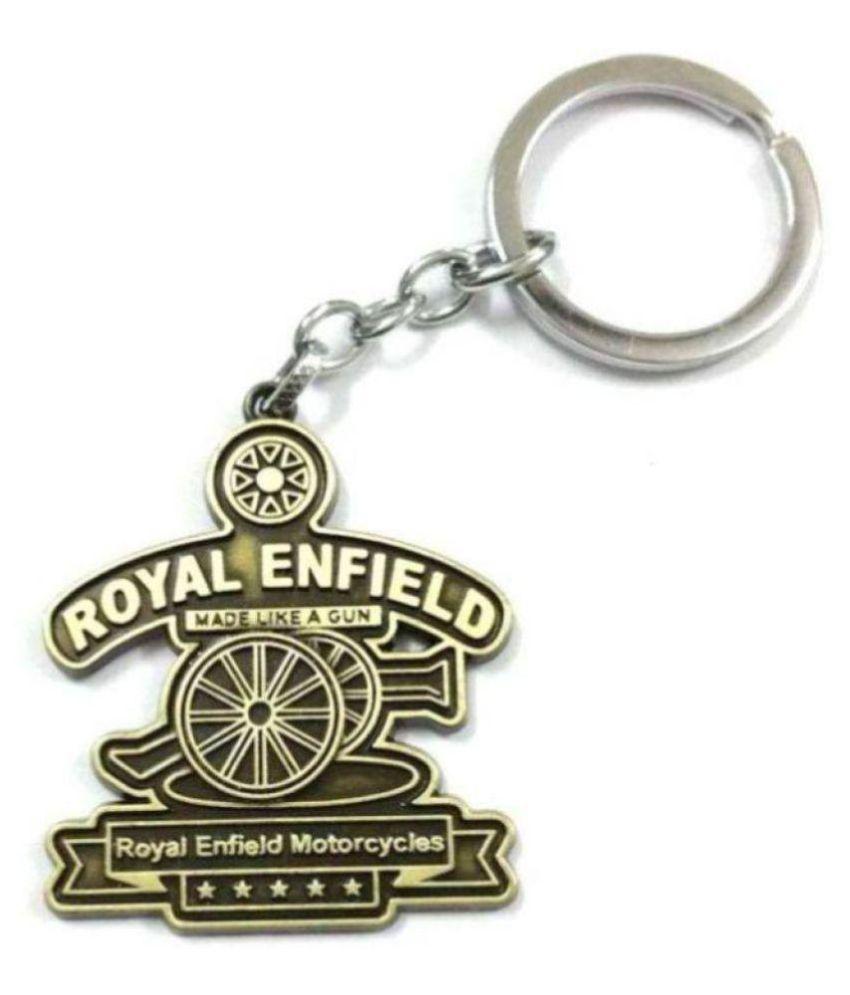 Royal Enfield metal key chain