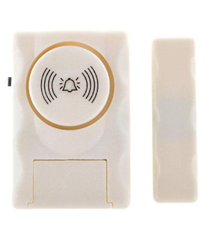 Wireless Window/Door Entry Alarm (MC06-1) with Magnetic Sensor and Loud Sound Siren (Set of 2)