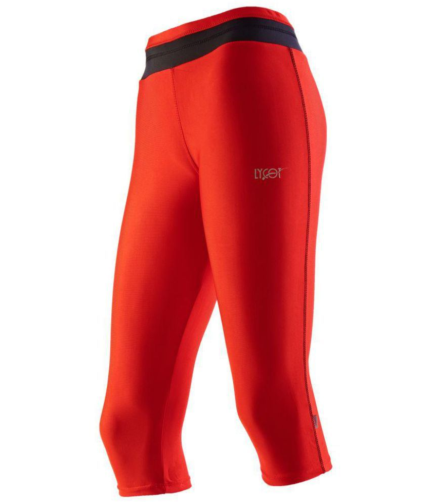 Lycot Lycra Tights - Red