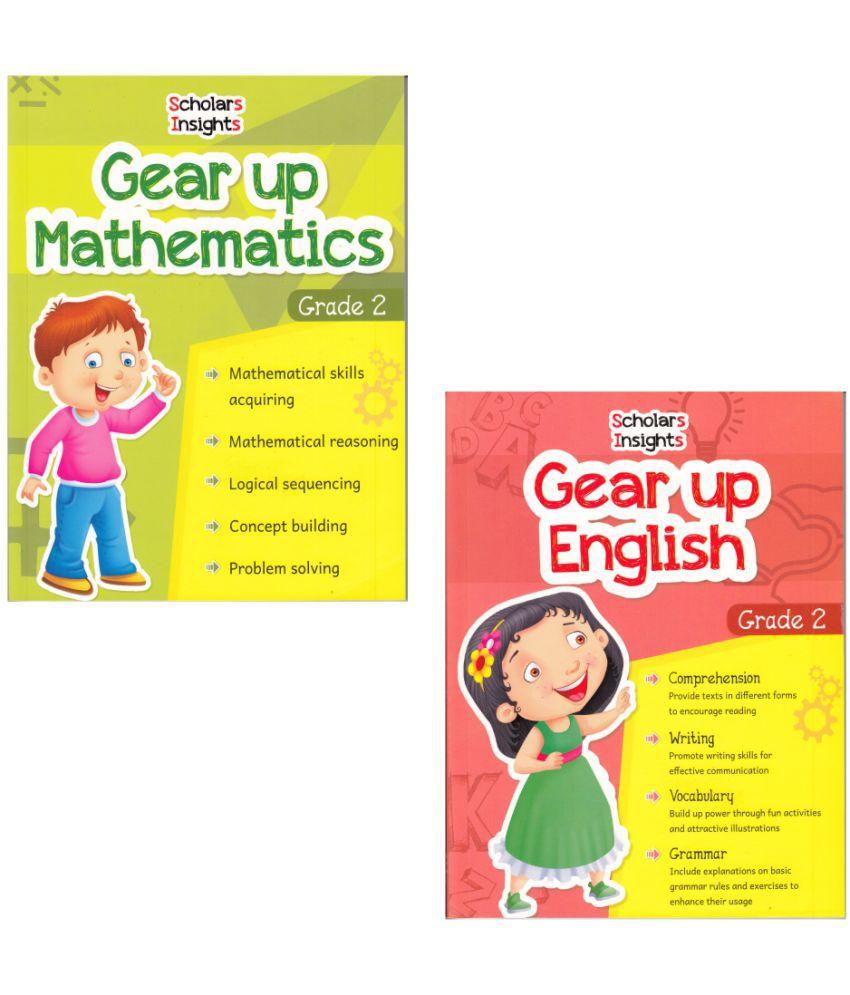 Scholars Insights Gear Up English & Maths Grade 2 (Set of 2)
