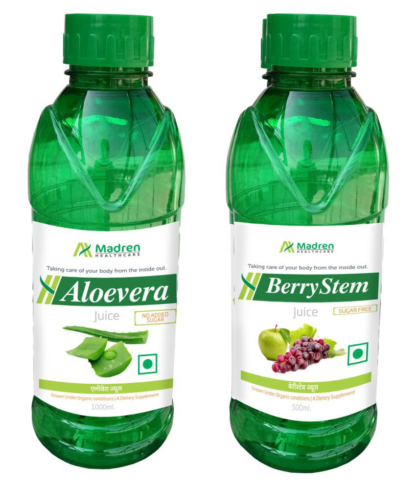 Madren Healthcare Aloevera & Berry Stem Juice Health Drink 1500 ml