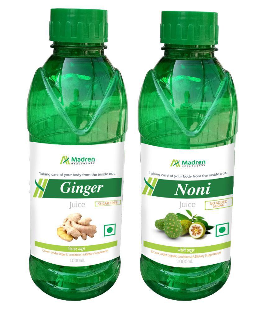 Madren Healthcare Ginger & Noni Juice Health Drink 2000 ml