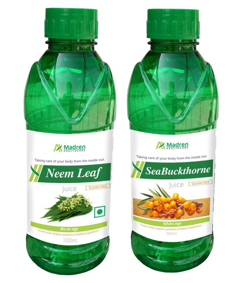 Madren Healthcare Neem & Sea Buckthorne  Health Drink 1500 ml