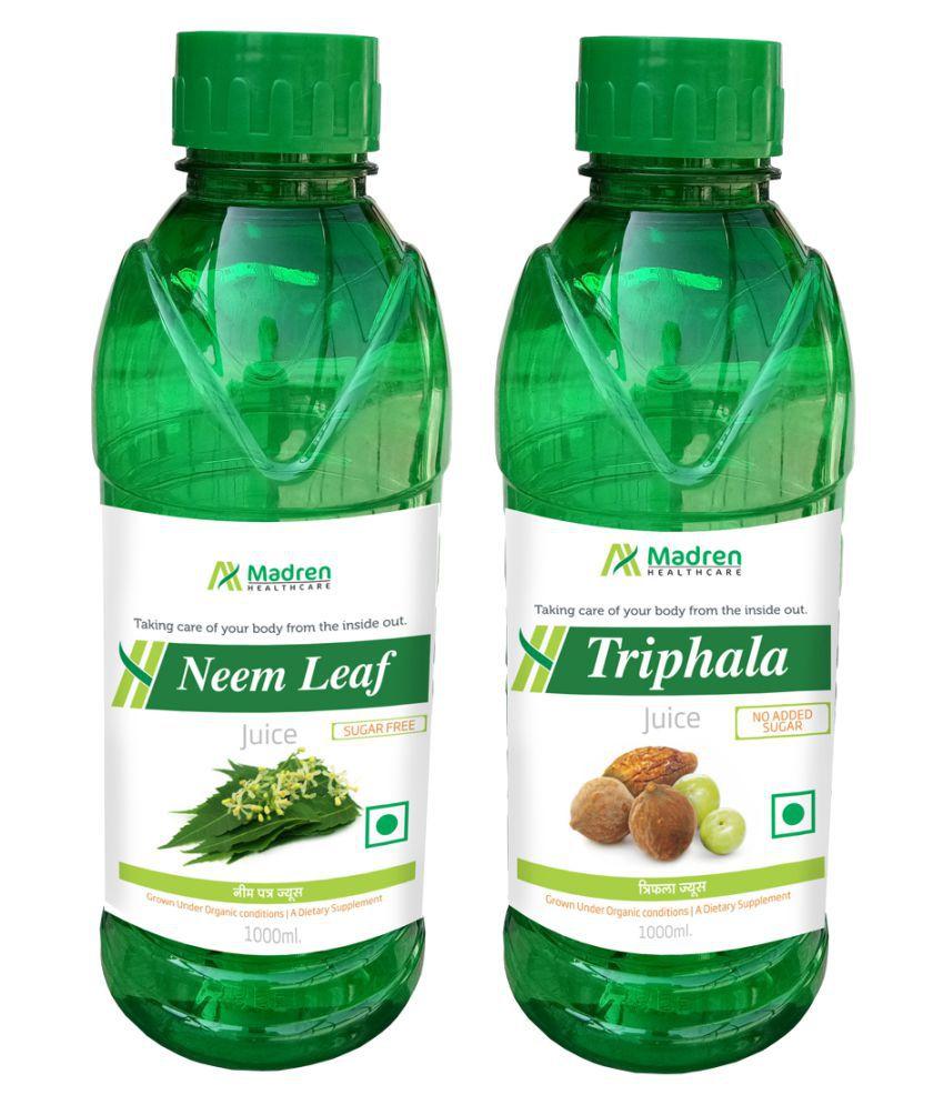 Madren Healthcare Neem & Triphala Juice Health Drink 2000 ml