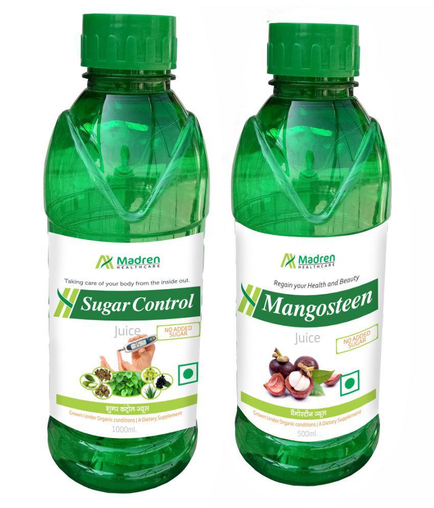 Madren Healthcare Sugar Care & Mangosteen  Health Drink 1500 ml