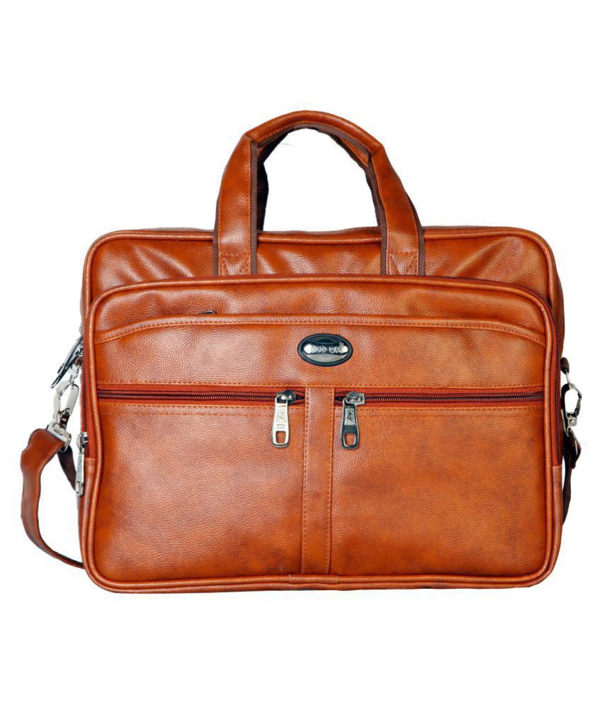 Source · Goodwin Tan Leather Office Bag Buy Goodwin Tan Leather Office Bag 53f0c7e7c0a23