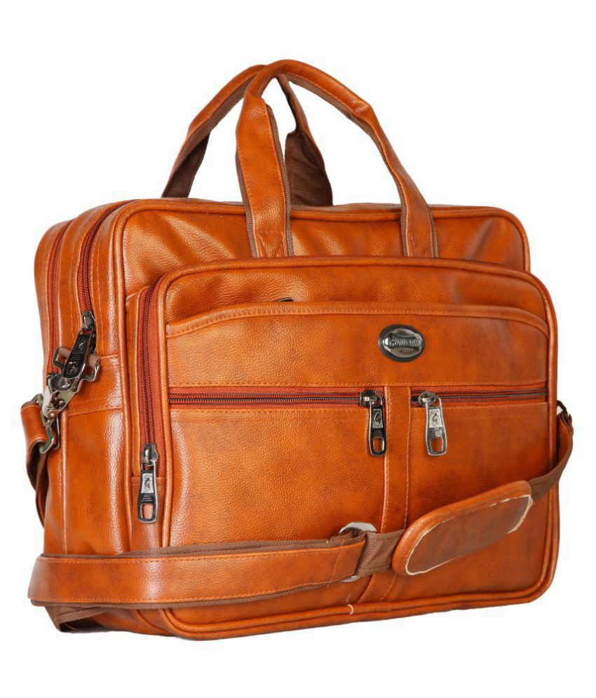 607e7948ae Goodwin Tan Leather Office Bag Cross Bag Leather Bag Men Man Side Bag Gents  Bag Men Side Bag One Side Bag Men Carry Bag Men - Buy Goodwin Tan Leather  Office ...