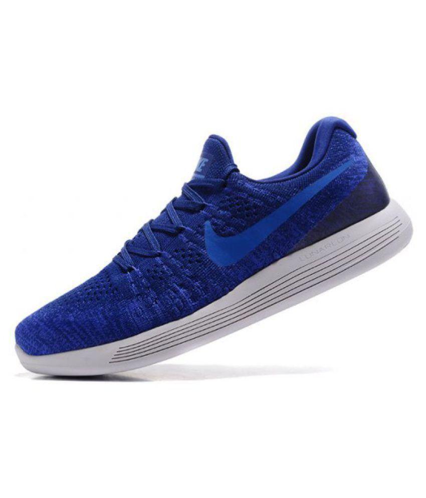 buy online 6d239 ed20b nike lunarepic low flyknit  nike lunarepic low flyknit blue running shoes