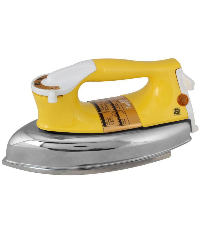 TAG9 Plancha Dry Iron Yellow