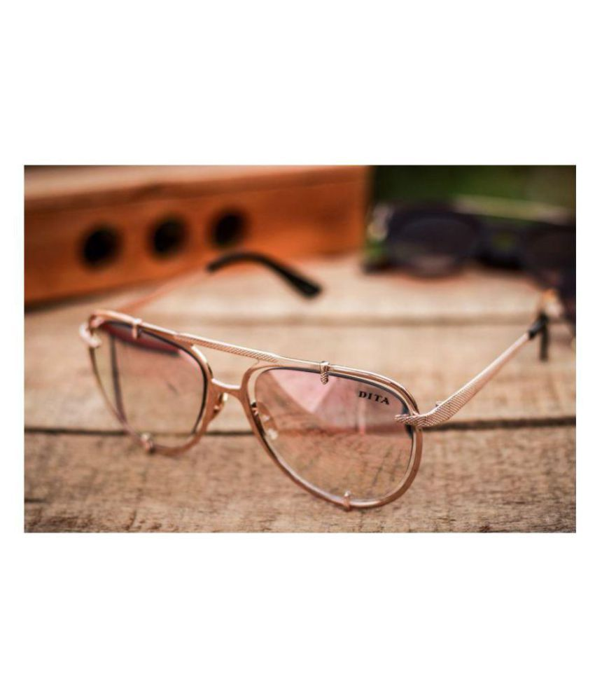 Dita Dita Aviator SunglassesD0007 Dita Pink Aviator SunglassesD0007 Pink Sunglass Sunglass CxWrQBedo