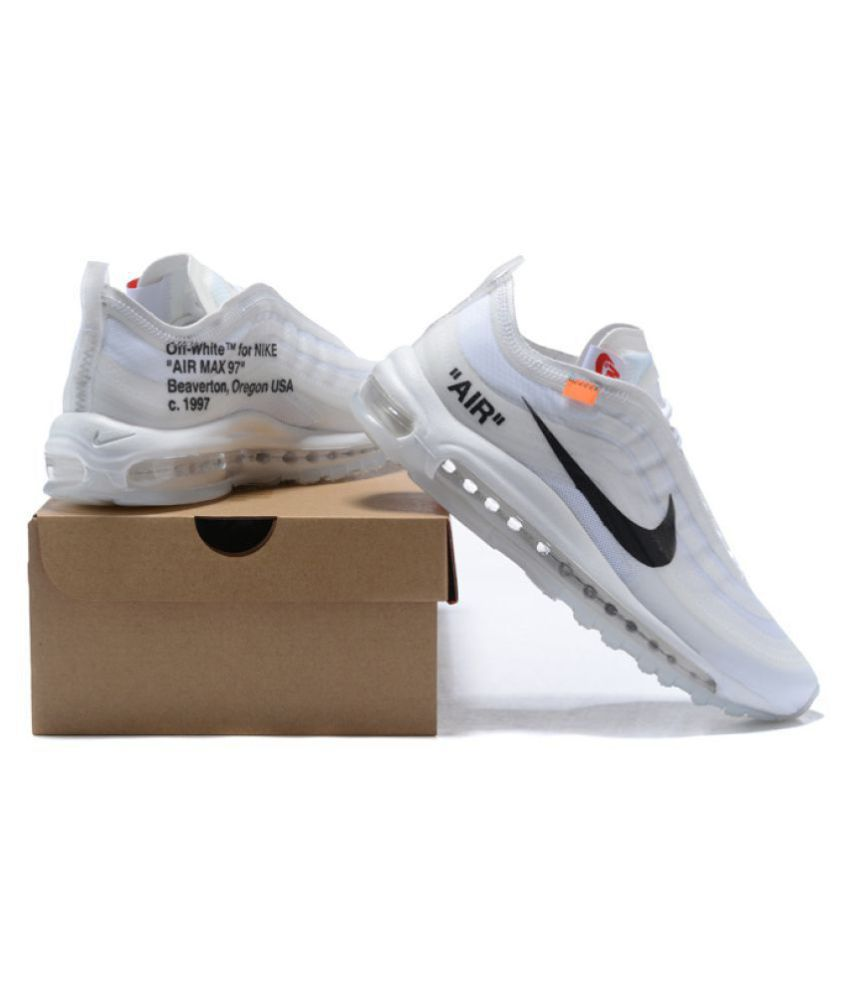 00b99d568 Nike Air Max 97 Off-White x 2019 LTD White Running Shoes - Buy Nike ...