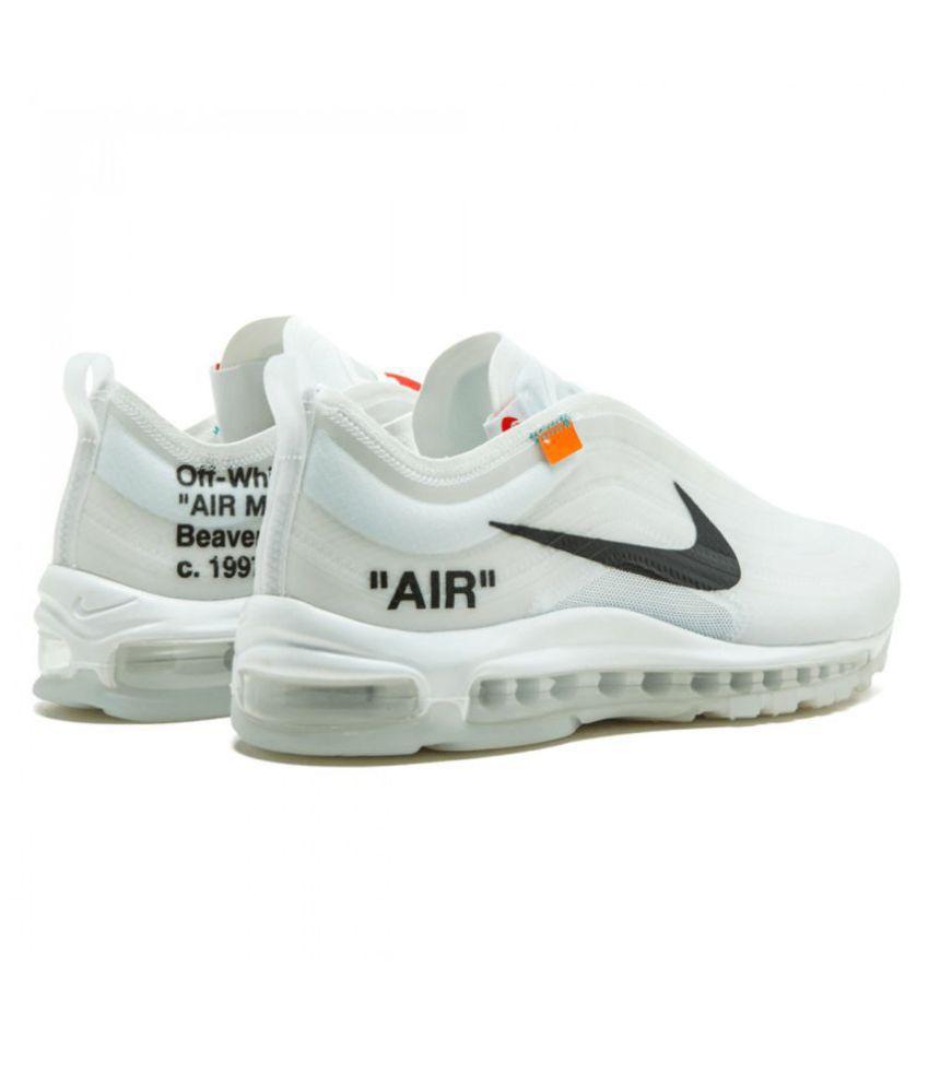 online retailer fde90 009d8 ... Nike Air Max 97 Off-White x 2019 LTD White Running Shoes ...
