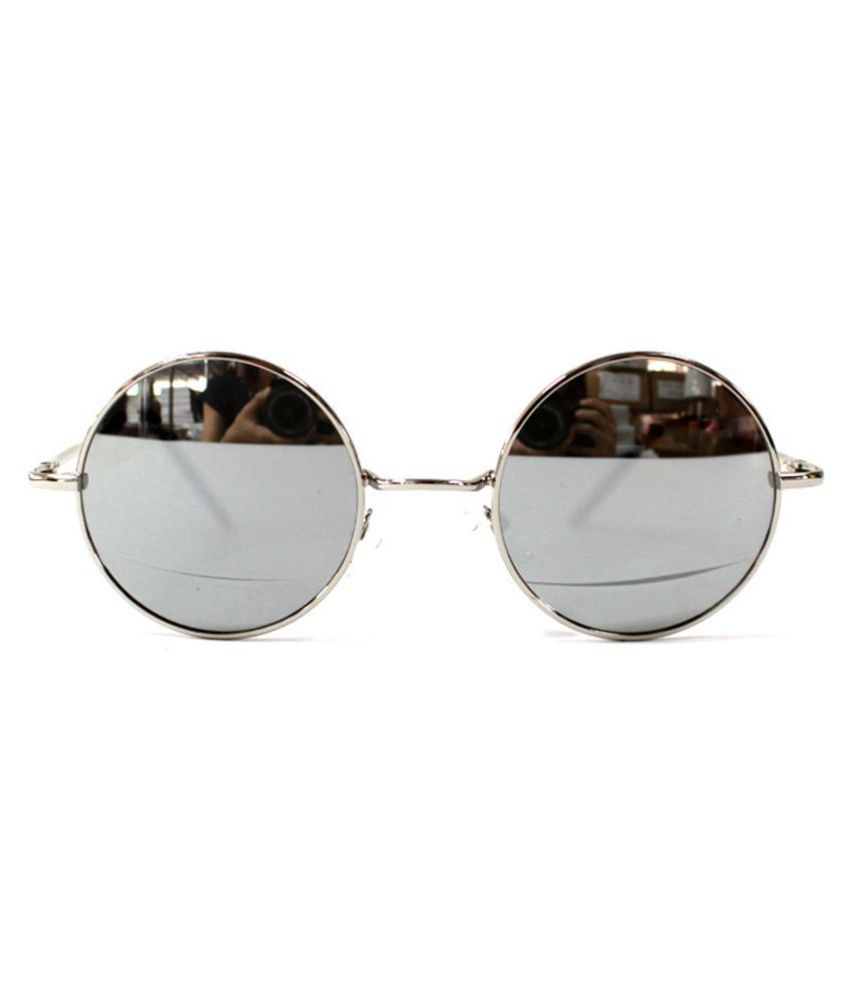 8eb177ea34b Buy New Gandhi Style Goggle For Girls And Boys Silver at Best Prices in  India - Snapdeal