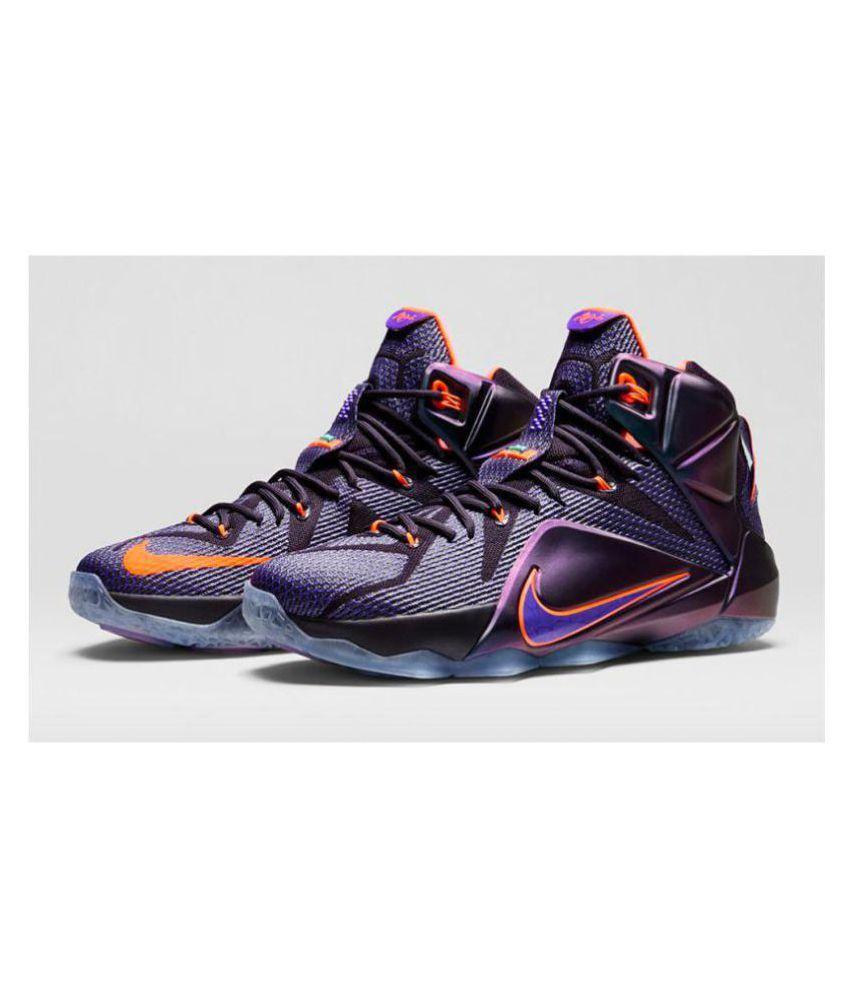 2040c434ccf Nike LeBron James Purple Basketball Shoes - Buy Nike LeBron James ...