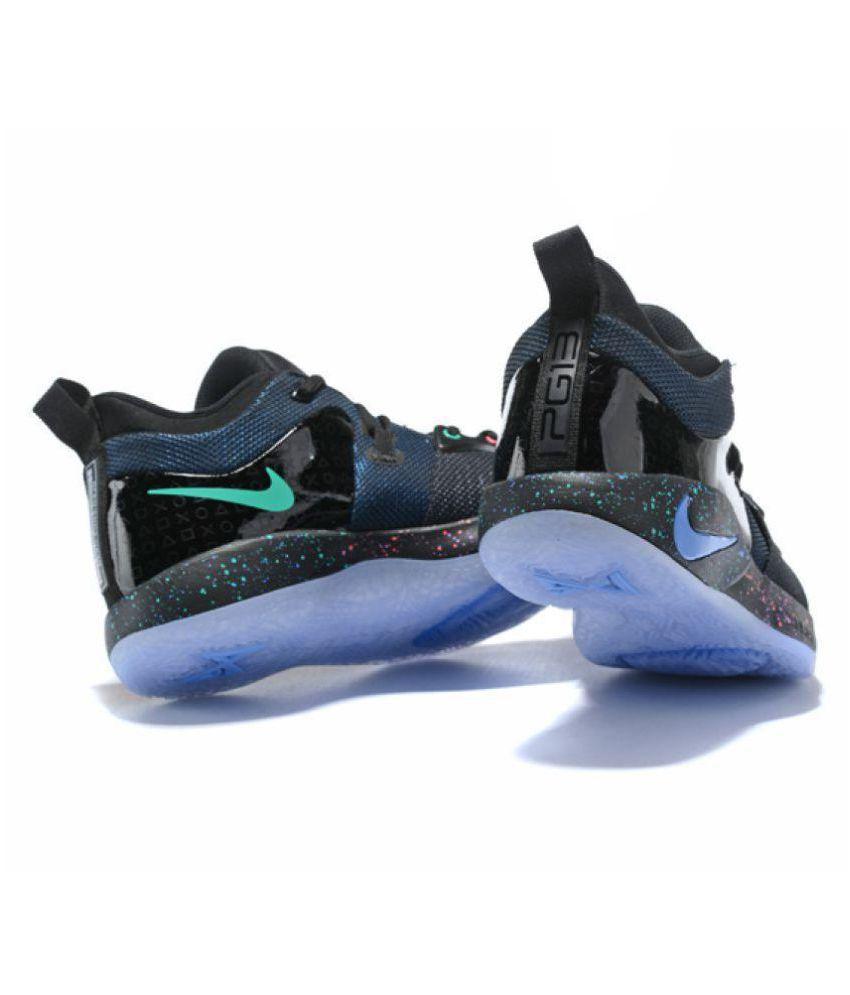best website d2715 5c486 Nike PG 2 PLAYSTATION LED LIGHT Blue Basketball Shoes
