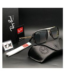 7630c4ef151 Quick View. Ray Ban Avaitor Black Square Sunglasses ( 4413 ). Rs. ...
