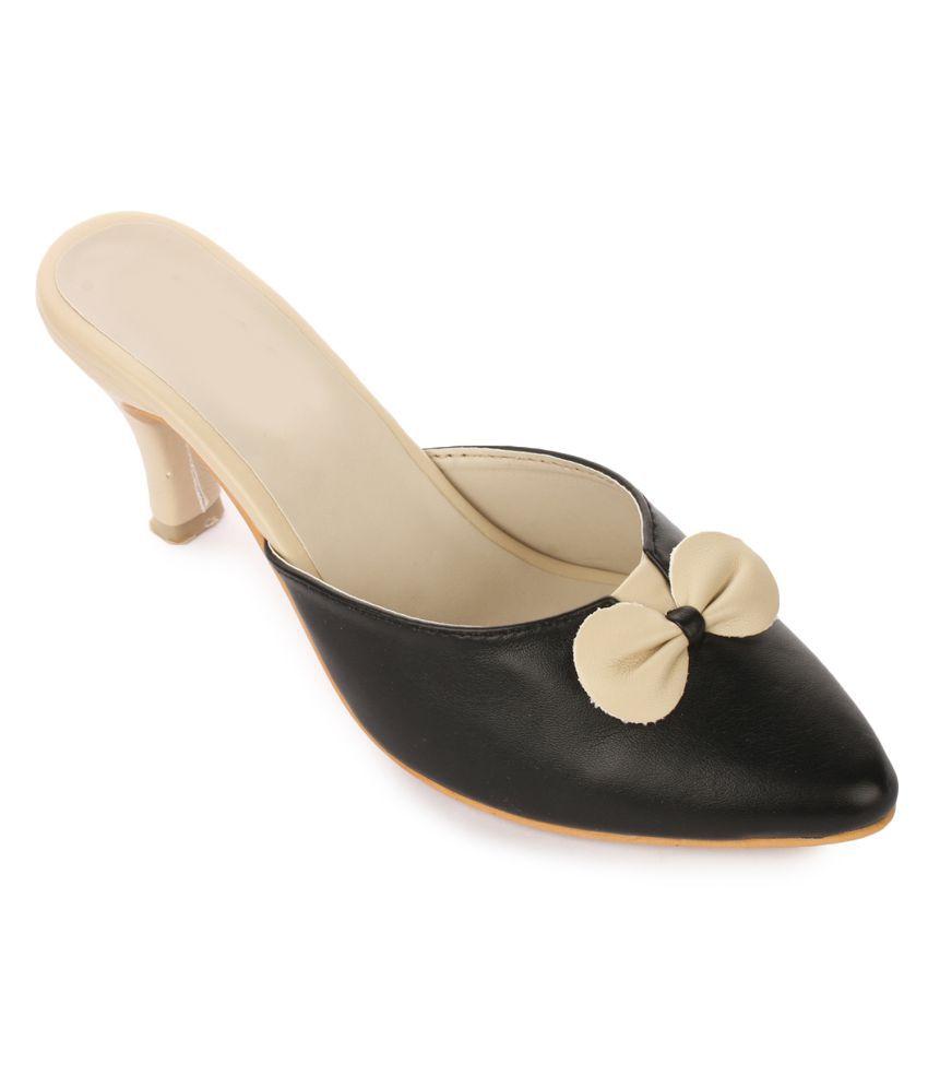 Ikrah Black Stiletto Heels