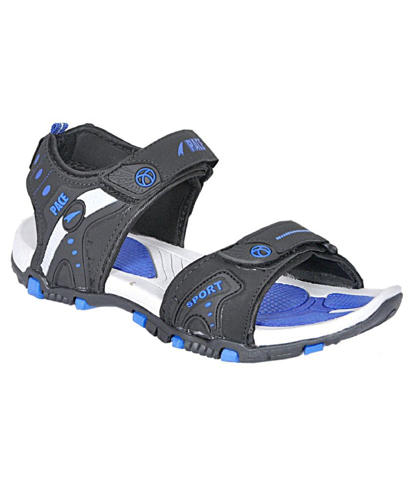 87cb751180e1a Lakhani Pace Blue Textile Floater Sandals - Buy Lakhani Pace Blue Textile  Floater Sandals Online at Best Prices in India on Snapdeal
