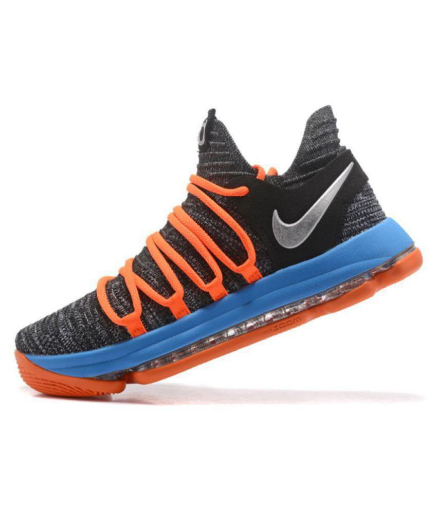 c6c5544e7f16 Nike KD 10 2018 Multi Color Basketball Shoes - Buy Nike KD 10 2018 Multi  Color Basketball Shoes Online at Best Prices in India on Snapdeal
