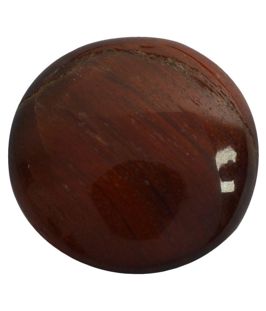 pitliya jewellers 14 -Ratti Self certified Brown Tigereye Semi-precious Gemstone
