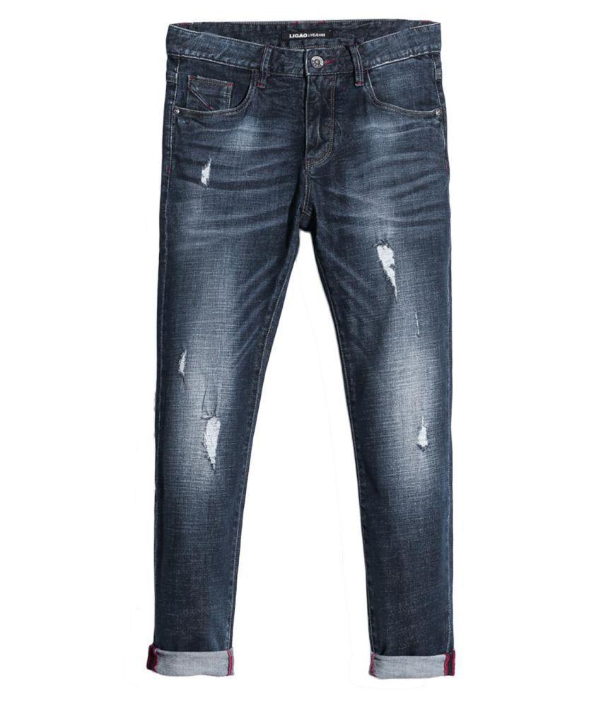 Generic Blue Slim Jeans