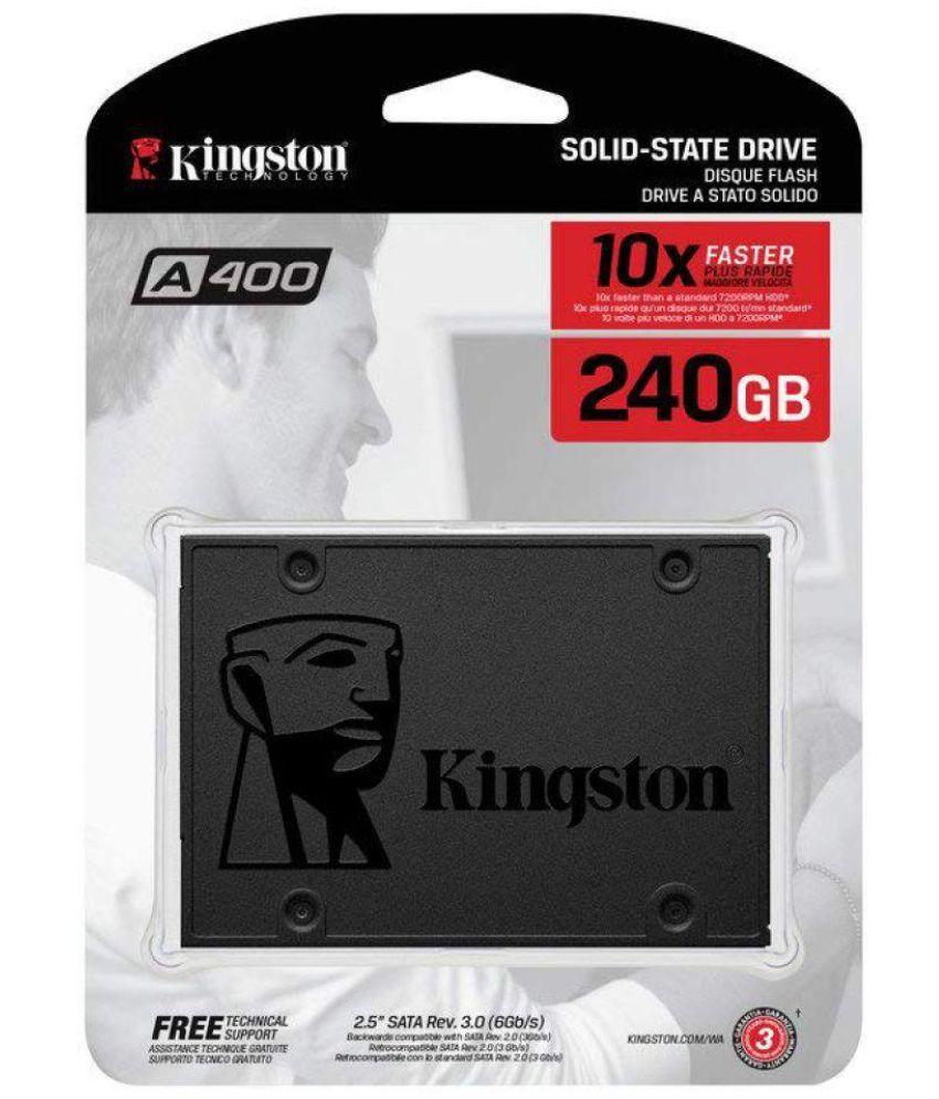 Kingston SA400S37/240G 240 GB SSD Internal Hard drive