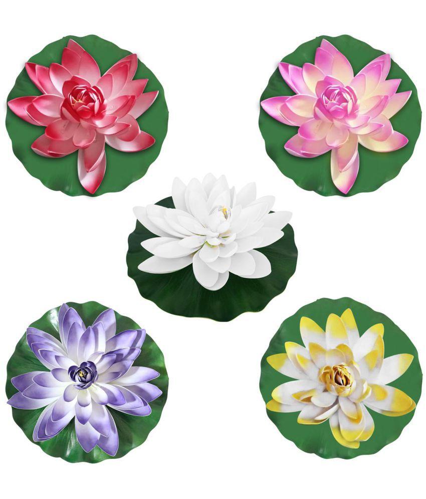 Buy led lotus flower shape colorful garden yard fountain water float led lotus flower shape colorful garden yard fountain water float night light mightylinksfo