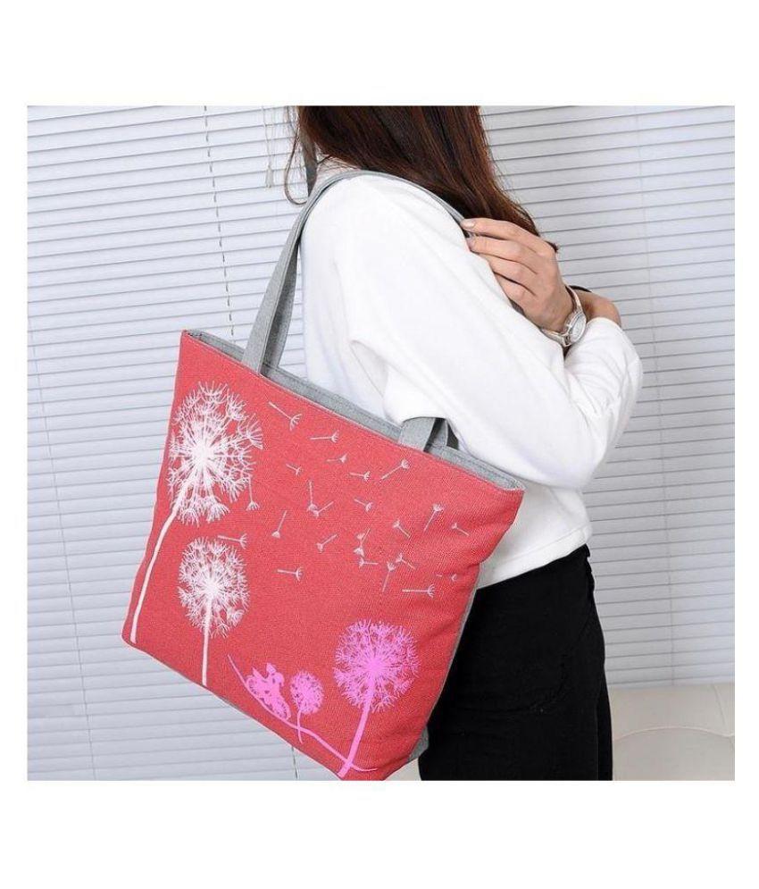 Noble Red P.U. Sling Bag