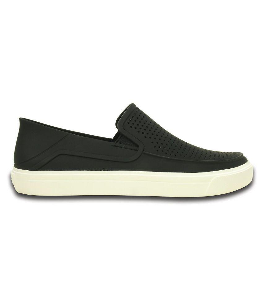30d7702b7 Crocs CitiLane Roka Slip-on Sneakers Black Casual Shoes - Buy Crocs ...