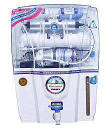 Aquagrand GRAND AUDY 12 L RO + UV + UF + TDS Water Purifier (White)
