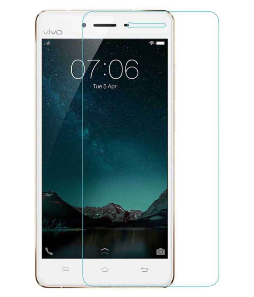 Vivo Y55L Clear Screen Guard By HatHot Hammer Proof Screen Guard
