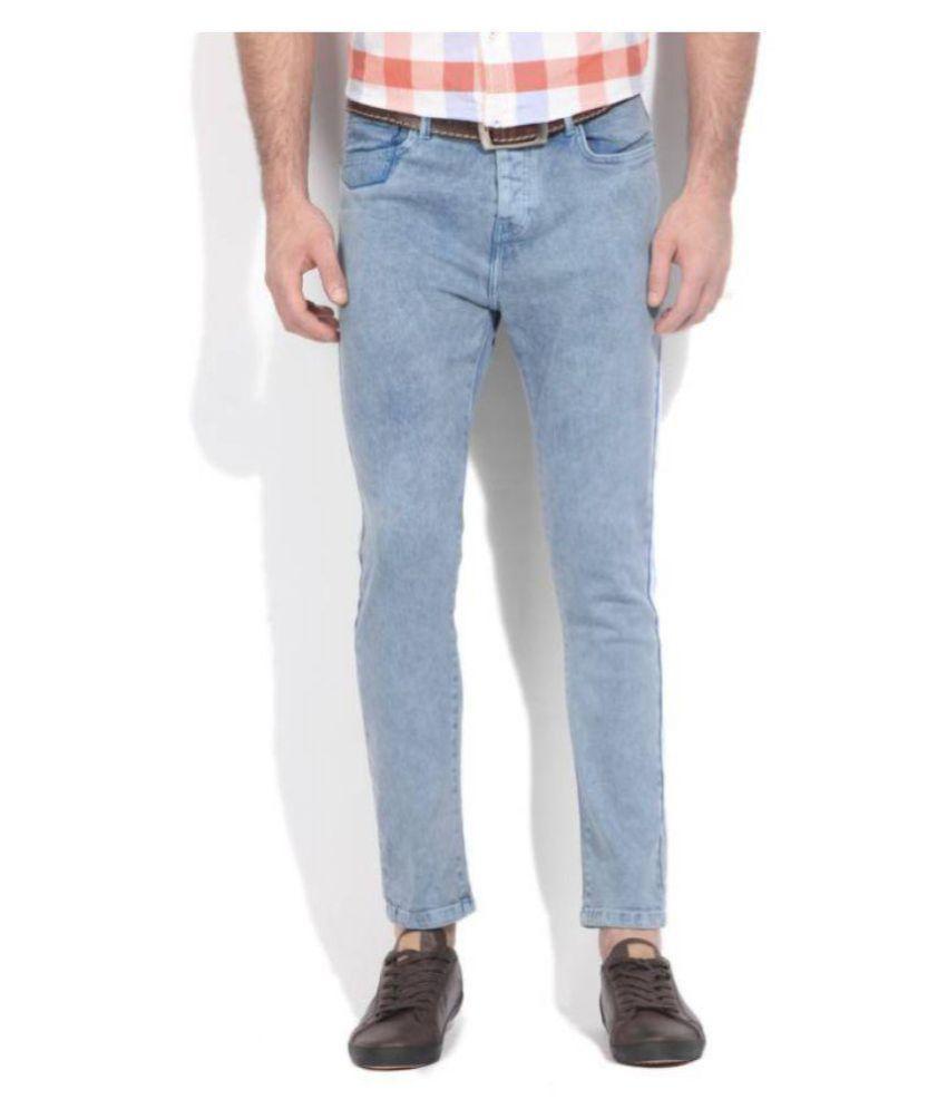 United Colors of Benetton Light Blue Slim Jeans