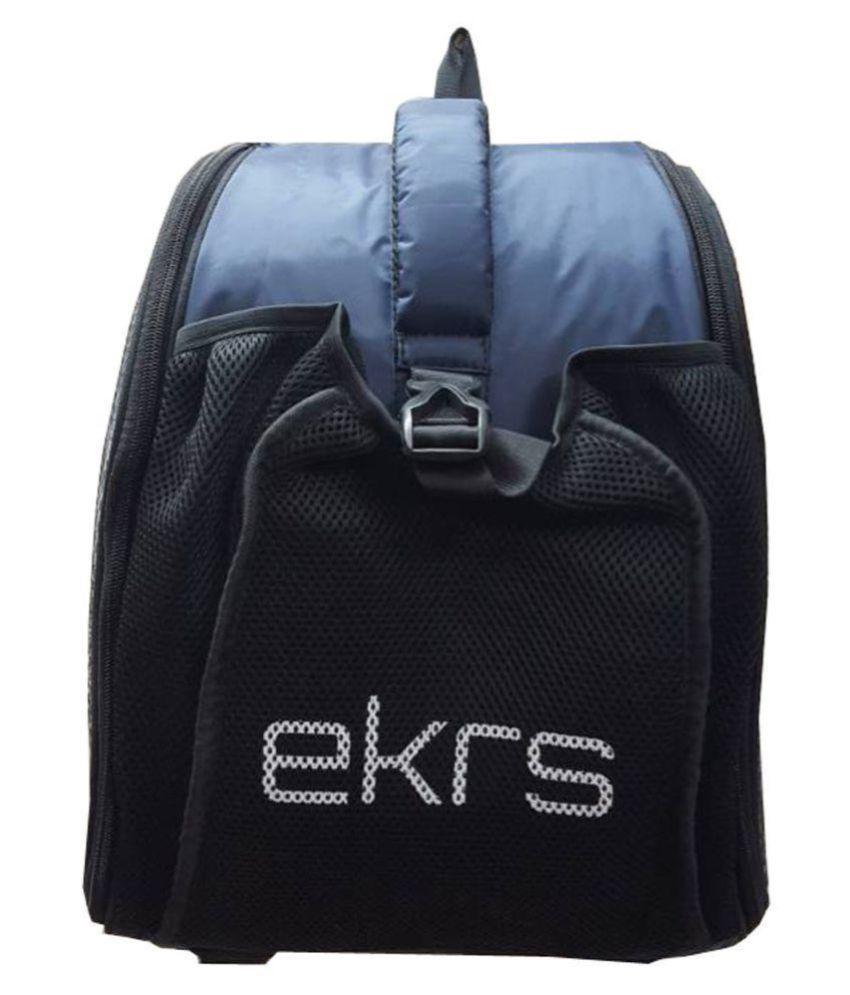 EKRS BAG SUITABLE FOR INLINE SKATES AND SKATING HELMET - BLUE COLOR
