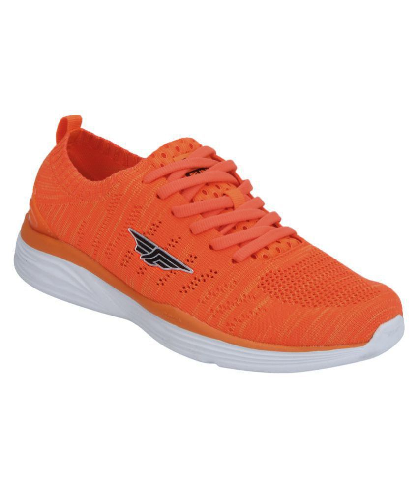 Red Tape Orange Running Shoes - Buy Red