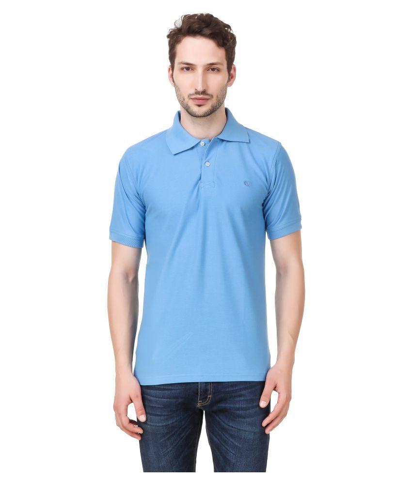 Vinayak Fashions Turquoise Half Sleeve T-Shirt Pack of 1