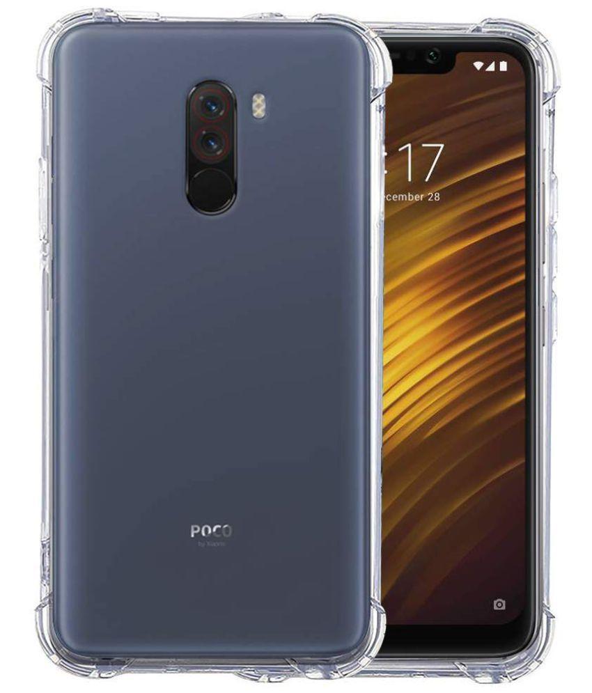 Xiaomi Redmi Poco F1 Shock Proof Case Bracevor - Transparent