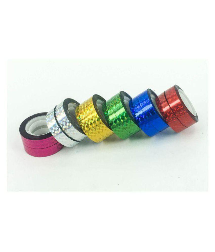 outlet te koop top mode professionele verkoop GOYAL® 6 Colors Shiny Craft Tape (Set of 12)